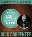 At the Table Live Lecture by Jack Carpenter