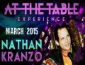 At the Table Live Lecture by Nathan Kranzo