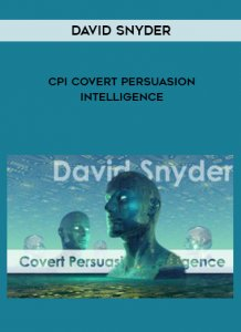David Snyder - CPI Covert Persuasion Intelligence