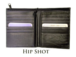 Hip Shot Wallet by Anthony Miller
