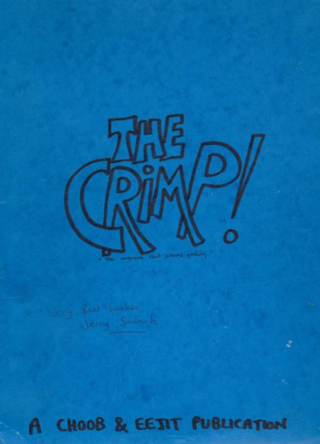 Jerry Sadowitz - The Crimp Vol 1-64 Extremely Rare