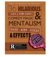 Comedy For Magicians and Mentalists by Nathan Kranzo