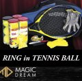 Ring in Tennis Ball by Joel Ward