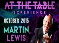 At the Table Live Lecture by Martin Lewis