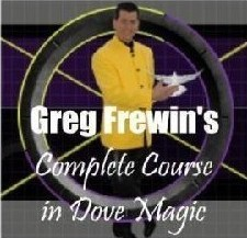 Complete Course in Dove Magic by Greg Frewin 3 Volume set - $4.99 :  magicianpalace.com