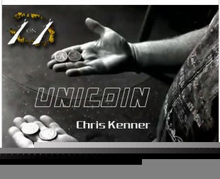 Unicoin by Chris Kenner - $1.50 : magicianpalace.com